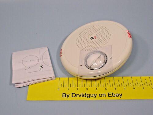 Edwards GCHFWF-S7VMC HF Ceiling Speaker / Strobe; 70V; White; Fire