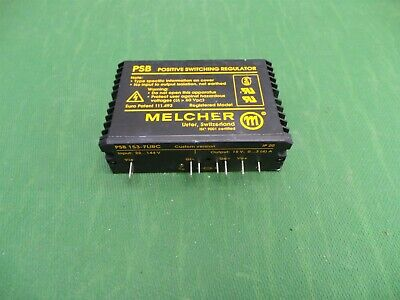 Melcher Psb 153-7lirc Positive Switching Regulator In22-144v Out 15v Ip 20
