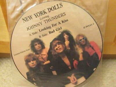 """NEW YORK DOLLS """"Looking For A Kiss"""" Dutch 12"""" Picture Disc - 12 DOLLS 2 (LTD ED)"""