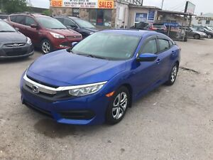 2016 Honda Civic Sedan One Owner| Rearview Camera| Bluetooth |To