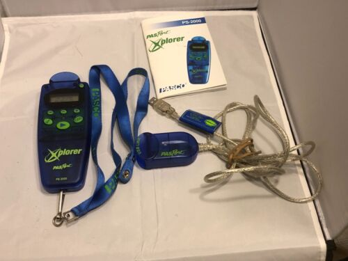 Pasco PS-2000 Xplorer PasPort Portable Logger with Scientific testing suite