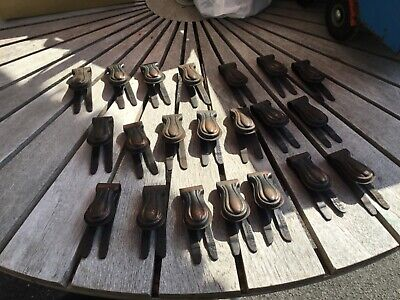 Vintage metal stair carpet grips / clips clipper joblot lot