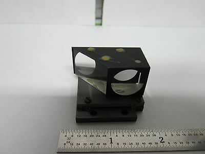 Microscope Part Leitz Germany Prism Mounted Optics As Is Binf5-04