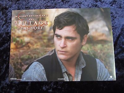 The Village lobby cards/stills - Joaquin Phoenix - German set of 8