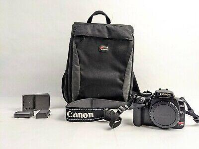 Canon EOS Rebel XTI Black Digital SLR Camera Body {10.1 M/P} Bundle W/ BODY ONLY
