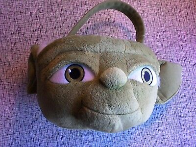 Easter Basket Halloween Costume (Disney Star Wars Yoda Halloween Costume Easter Plush Basket Bag Bucket)