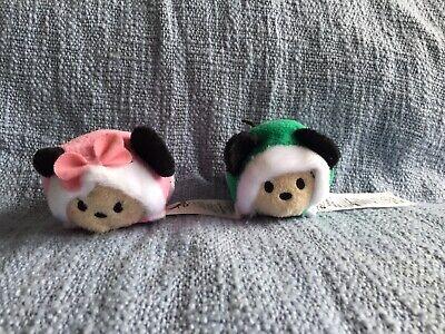 Tsum Tsum Disney Mickey Mouse Minnie Plush 2018 Advent Christmas Calendar Lot