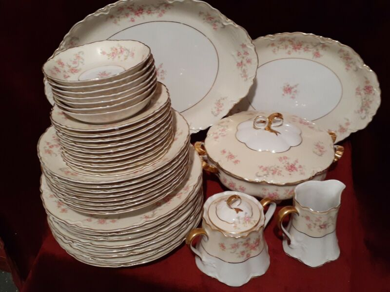 Vintage Hutschenreuther fine China selb PASCO Bavaria Germany nice 40 piece set