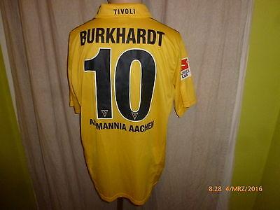 Alemannia Aachen Nike Heim Matchworn Trikot 2010/11 + Nr.10 Burkhardt Gr.L image
