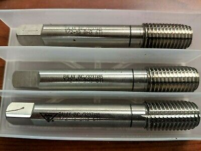 Balax 12-13 Bh3 Sti Thread Forming Tap Lot Of 3 Taps Brand New Usa