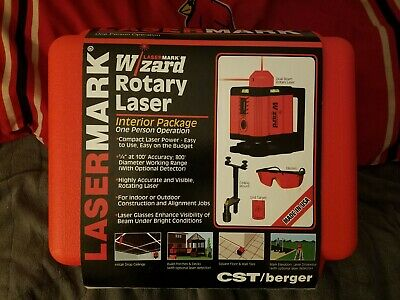 Cst Berger Lasermark Wizard Rotary Laser With Case