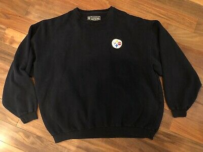 Vintage Pittsburgh Steelers Coca-Cola Coke Sweatshirt Crewneck Size 2XL NFL Cool