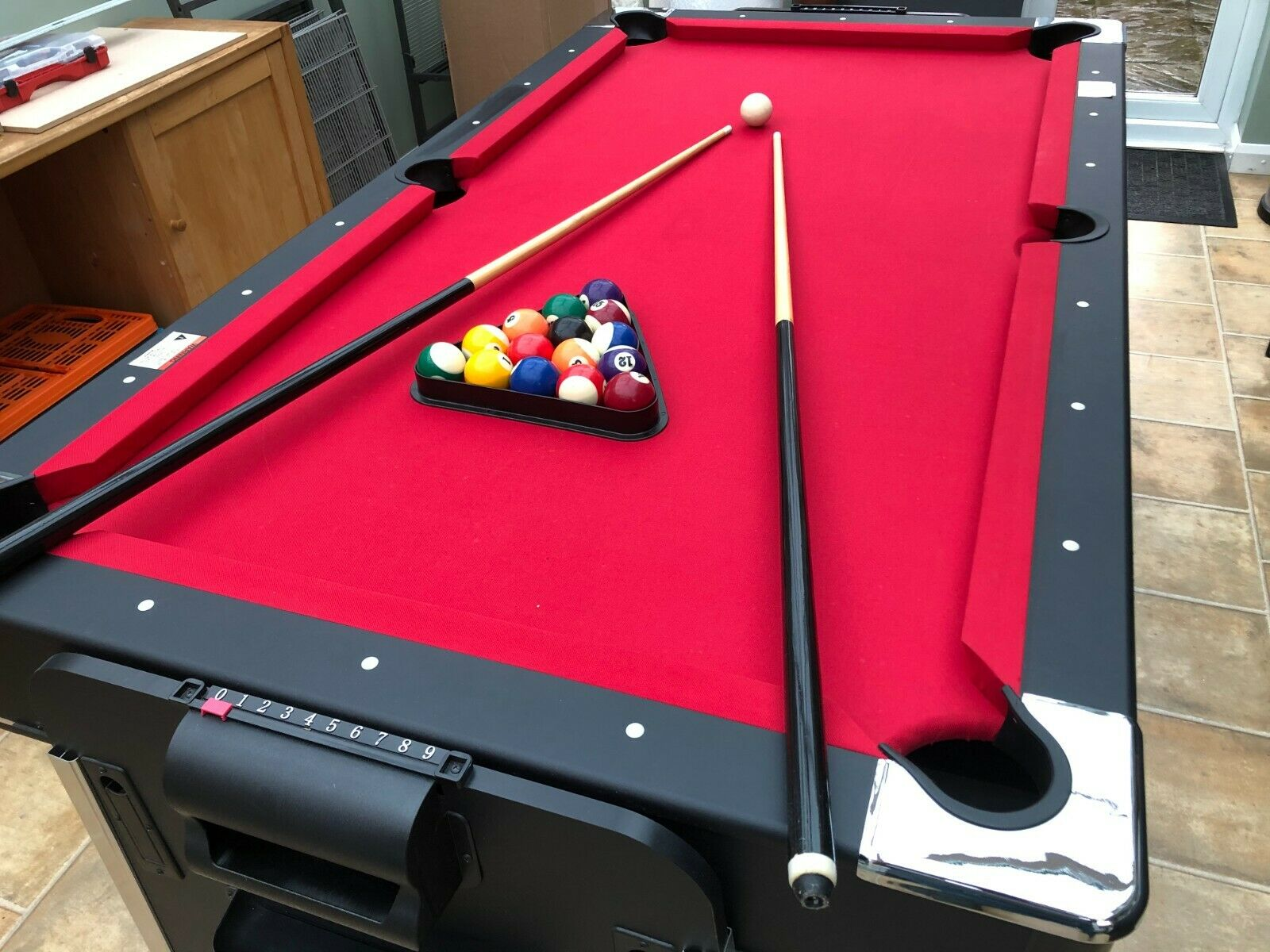 7ft 3 in1 Multigames Table (Pool/ Air Hockey/Table Tennis)