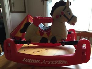 Radio flyer rocking horse