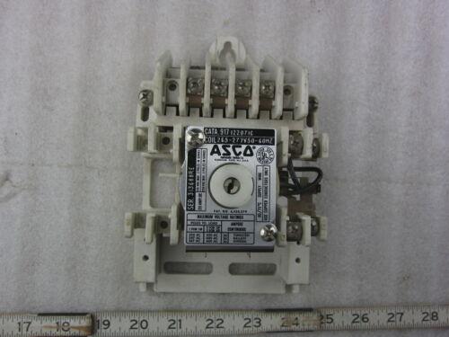 Asco 917 4P 6P 8P 10P 12P 277V Coil Lighting Contactor Relay, Used