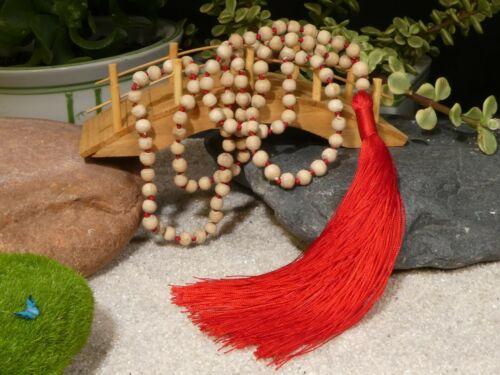Tulsi Mala Necklace • Yoga Jewelry • Mala Beads •Yoga Gift • 6mm • 2872