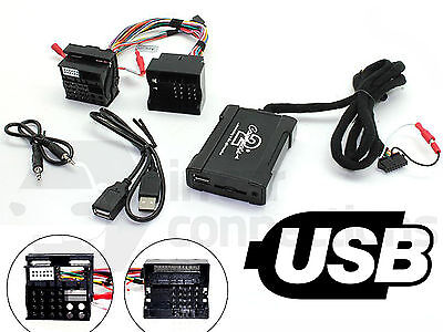 BMW USB adapter 7 Series E38 1994 - 2001 CTABMUSB009 car AUX SD input MP3 jack