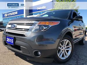 2015 Ford Explorer XLT | 7 PASS | NAVI | LEATHER | CAM | ONE OWN