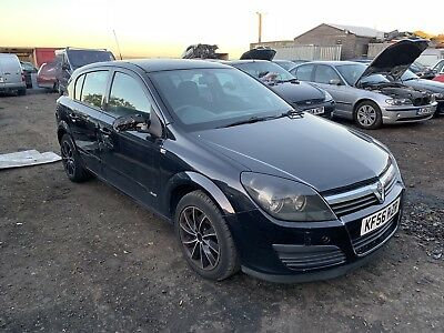 Vauxhall Astra 17 Cdti 2007 Black BREAKING ALL PARTS AVAILABLE