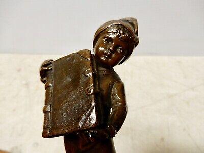 Vintage Broan Craft Collection Original Bronze Statue Vintage Bronze Statue Bronze Musician Sculptures Original
