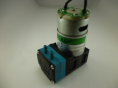 Mini Self Priming Membrane Diaphragm Micro Water Ink Pump 24 Vdc 6 Gph Hy2024