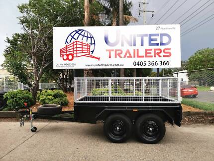 Heavy Duty 8x5 Tandem Box Trailer with GalvanisedCage LOCAL MADE Penrith Penrith Area Preview