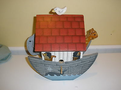 Hand crafted Noah's Ark hummingbird bird feeder NICE