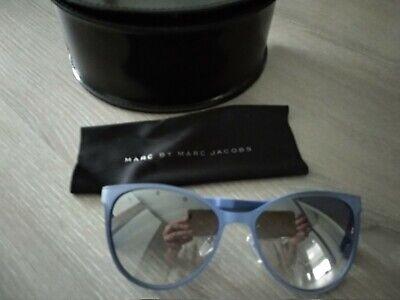 Sonnenbrille von Marc by Marc Jacobs, blau schöne Form
