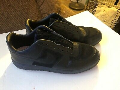 87bdc072c9bdd EUC Men s NIKE Air Lunar Force 1 Black Fuse Size 11.5 AF1 XXX