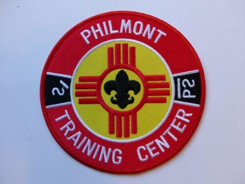 """Vintage Philmont Training Center Boy Scout BSA 6"""" Diameter Jacket  Back Patch"""