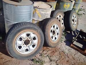 Wheels for Toyota Hilux Kalgoorlie Kalgoorlie Area Preview