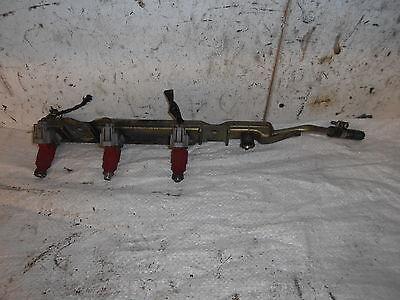 2004 1.8 PETROL NISSAN ALMERA TINO FUEL RAIL INJECTORS 0280155940