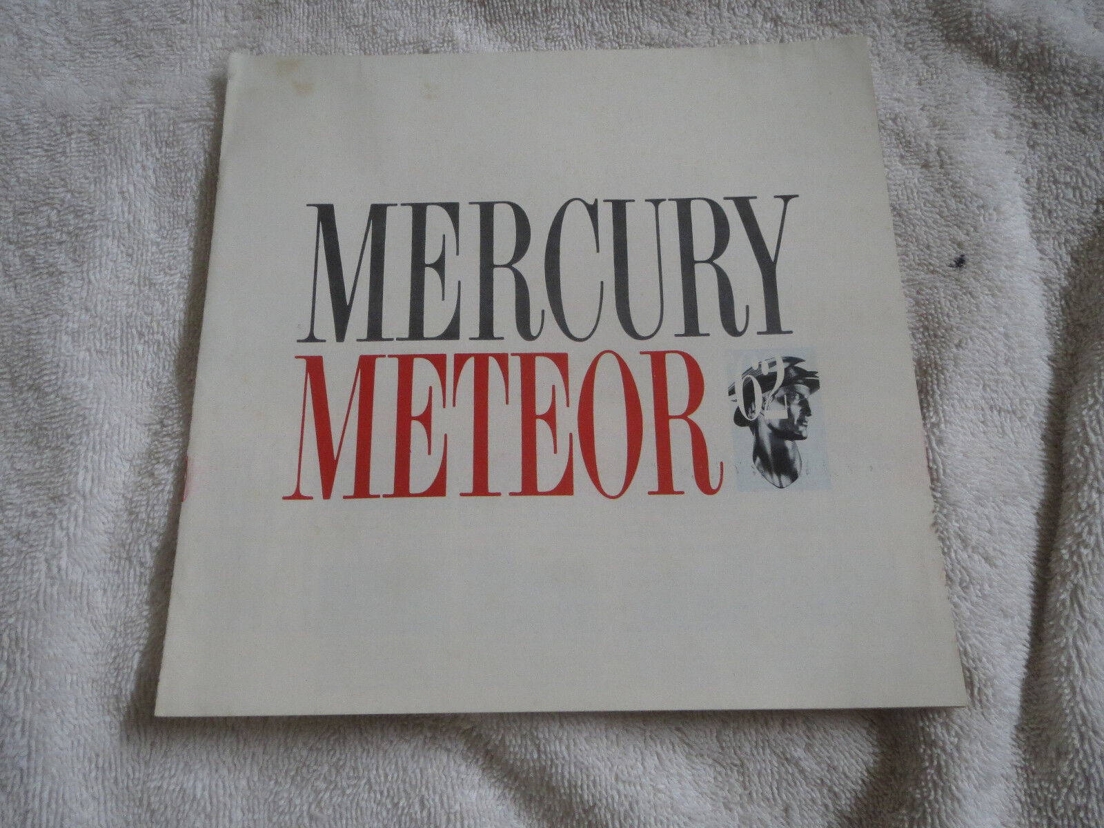 1962 MERCURY METEOR MODEL INTRODUCTION DEALERSHIP SALES BROCHURE