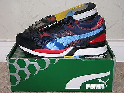 Puma Trinomic XT2 x Whiz Ltd x Mita Black / Red Mens Size 10 DS NEW! 698 RS