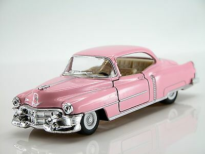 Kinsmart 1953 Cadillac Series 62 Coupe Scale1:43 (Pink) Die Cast Collectable Car