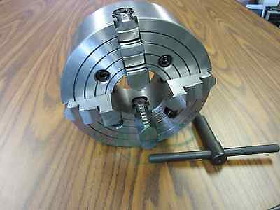 8 4-jaw Lathe Chuck With Independent Jaws 0804f0- New