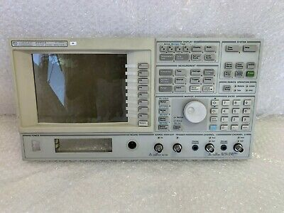 Hp Agilent 89410a Vector Signal Analyzer Panel Used Buttons Only 3631