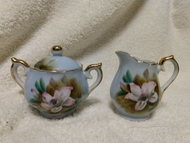 Vintage Quality Preferred Marilyn Exclusive Creamer And Sugar Bowl Set