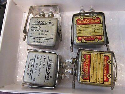 Precision Resistor 40301 Ohm 0.1 Etc 4 Resistors15 Nos Military  257