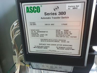Asco 300 Series Transfer Switch Unit - Brand New