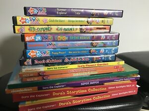 MOVING SALE:  Dora DVDs and Books