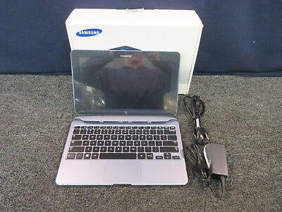 SAMSUNG WIFI ATIV SMART TABLET 500T1C-HA2 WINDOWS 8 OS KEYBOARD PC COMPUTER 500T