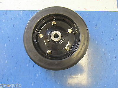 Replacement Finishing Mower Wheel- 10 X 3.25 W 34 Hole Bushhog 87750