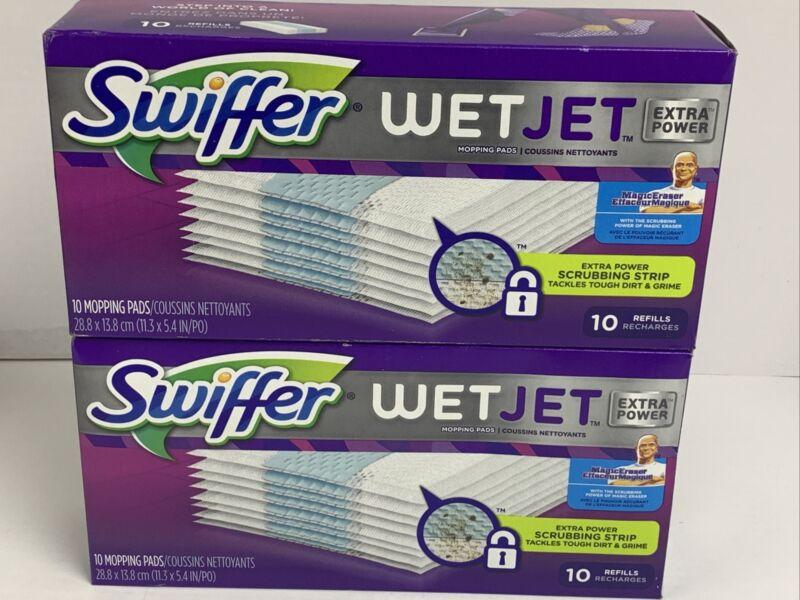 Swiffer Wet Jet EXTRA POWER MAGIC ERASER SCRUBBING STRIP Mopping Pads (20 Ct.)