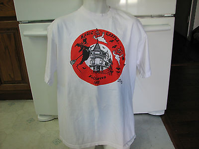 Magic Castle club Hollywood California vintage t shirt 1992 Halloween (Magic Castle Halloween)