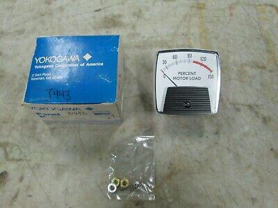 Yokogawa Panel Meter Percent Motor Load Mod 250 0-150 Pml Nib