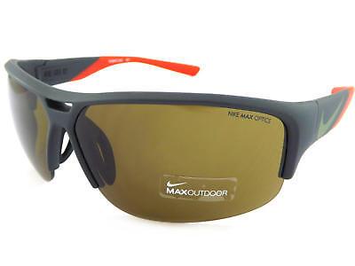 Nike Golf X2 Sonnenbrille Matt Grün Rot mit Max Außen Linsen EV0870 303