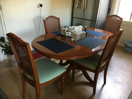 Dinning table with buffet table