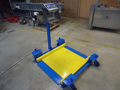 Fairbanks Drum Weighing Utility Floor Scale