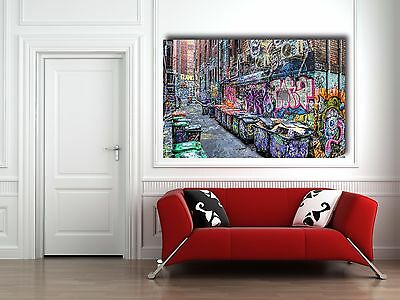 Five Pointz NYC Graffiti Street Art 24 x 20 (canvas) - Banksy, Brainwash
